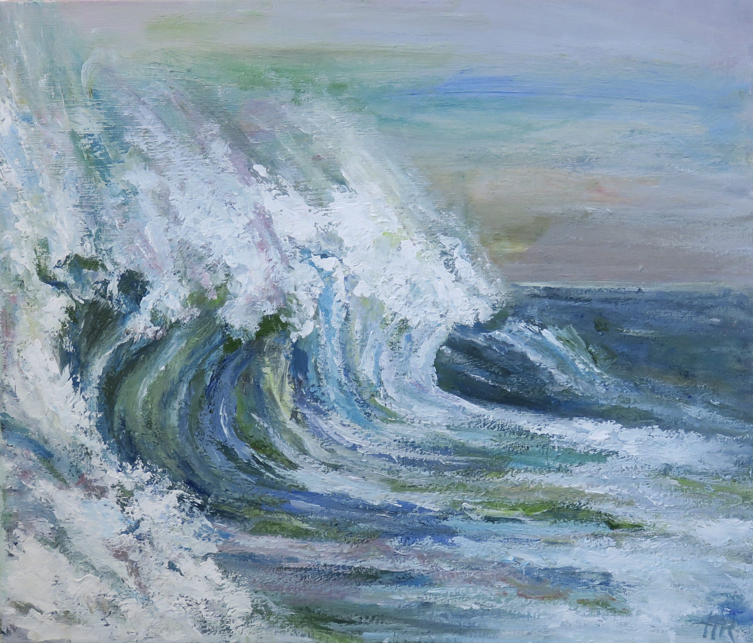 Wave in Wind