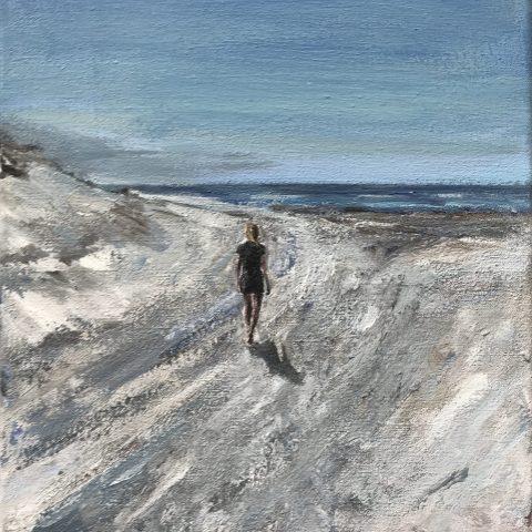 Girl in the dunes