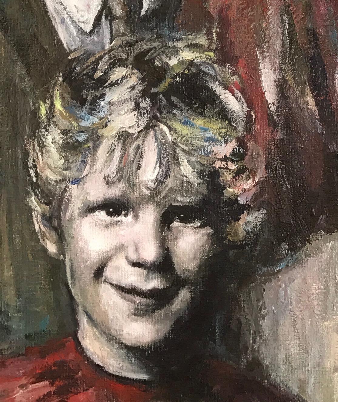 Girl (detail family portrait)